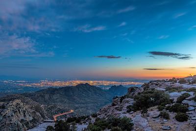 Tucson Twilight I