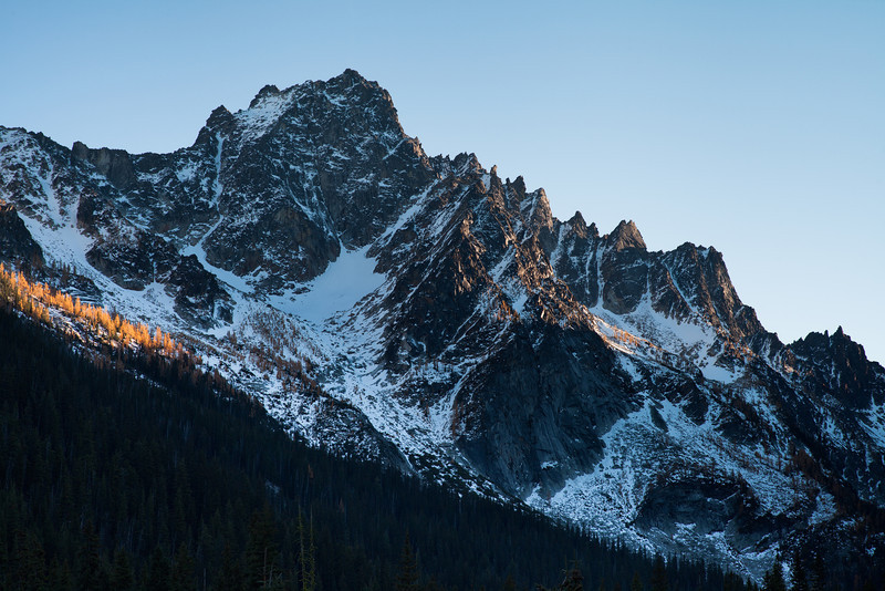 Colchuck Peak, East Face