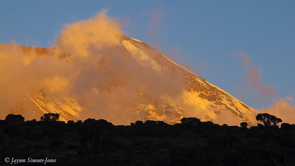 Sunset....Mt Kilimanjaro, Tanzania Africa