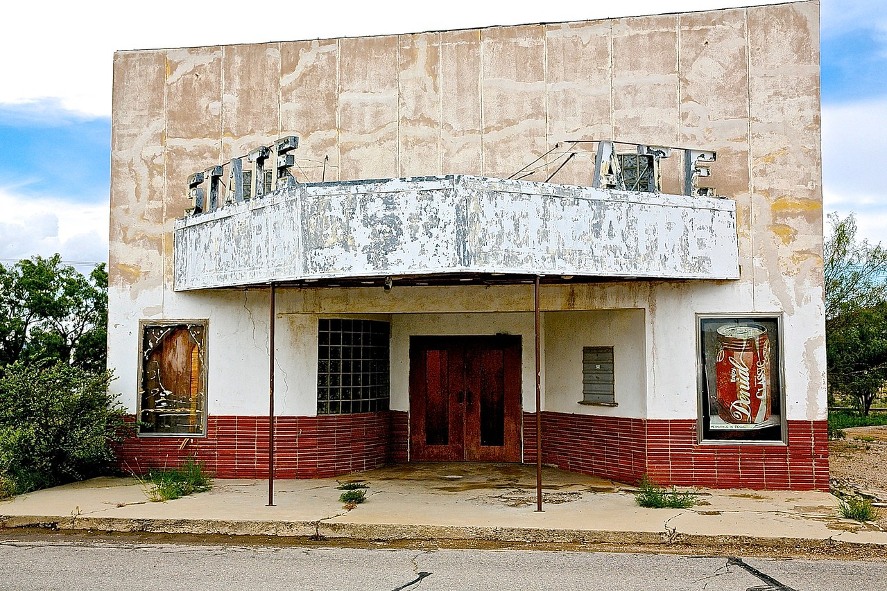 The Last Picture Show.  Sierra Blanca, Texas.