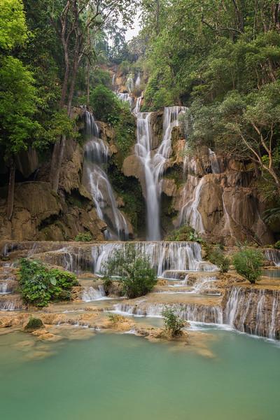 Kuang si Waterfall in Laos