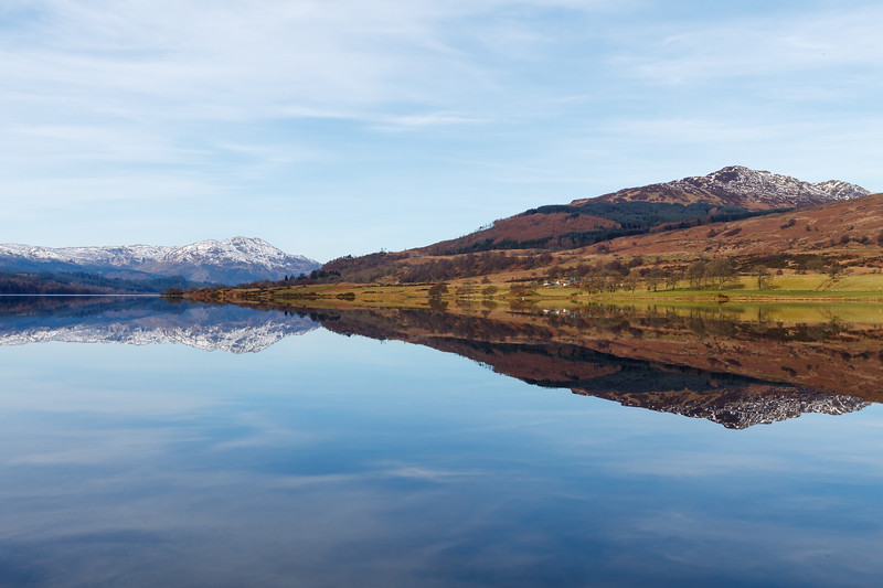 Reflections in Loch Venachar