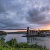 Menai Bridge Sunset