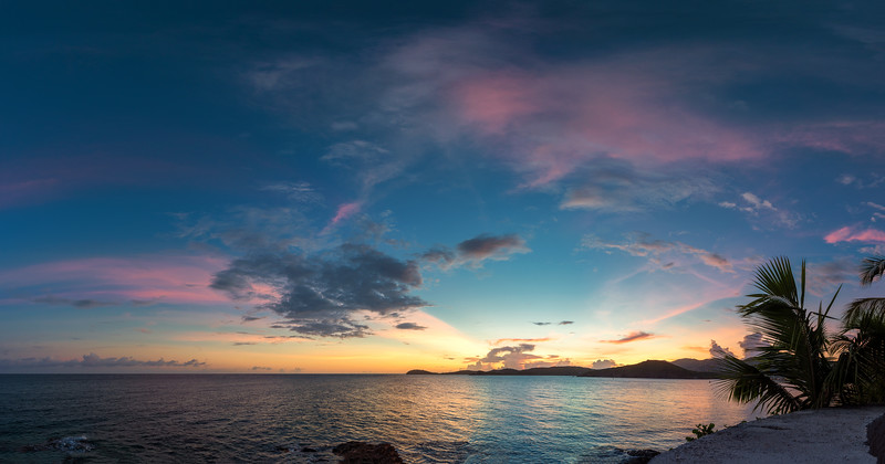 Sunset from Marriott, St Thomas USVI