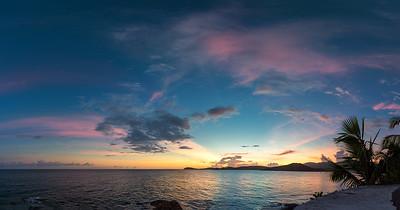 Sunset from Marriott, St Thomas USVI