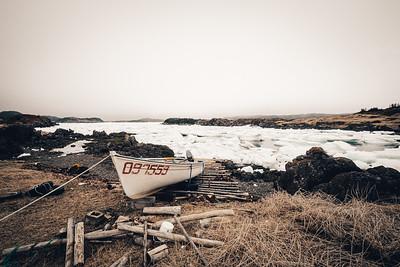 Ice Floe in Twillingate Newfoundland