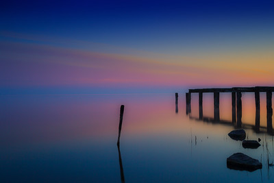 Old Jetty on Lough Neagh , Co Armagh, Northern Ireland