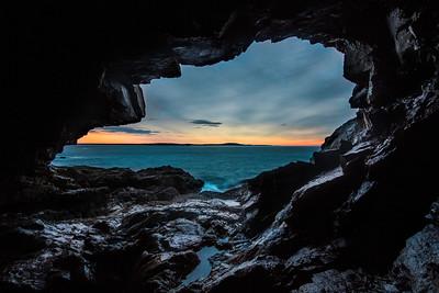 Seacave Sunrise