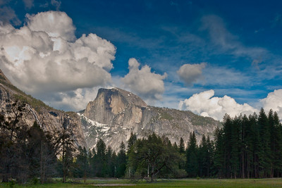 Half Dome in March