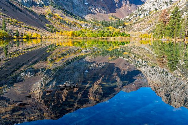 Parker Lake Reflection - June Lake Loop