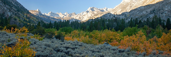 eastern sierra sunrise ...
