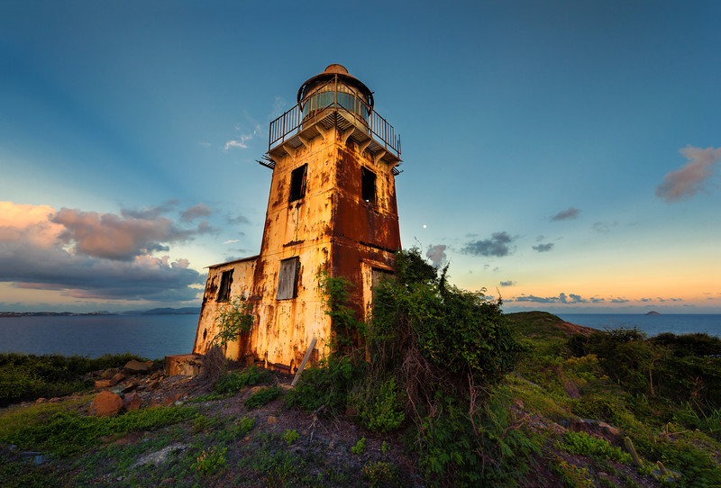 Buck Island Lighthouse, St Thomas USVI