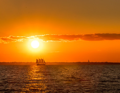 Charleston Harbor Sail