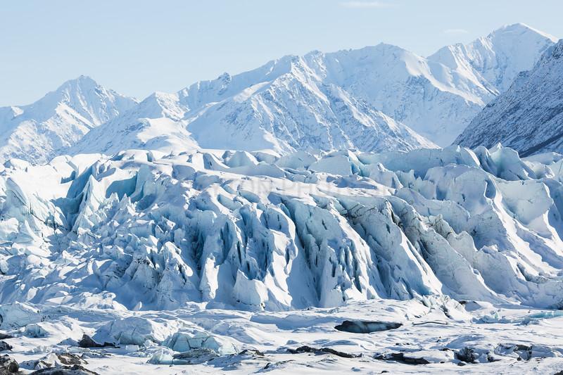 Matanuska Glacier Face<br /> <br /> Canon 5D MK III<br /> Canon EF 15mm f/2.8 Fisheye<br /> Matanuska Glacier, Alaska
