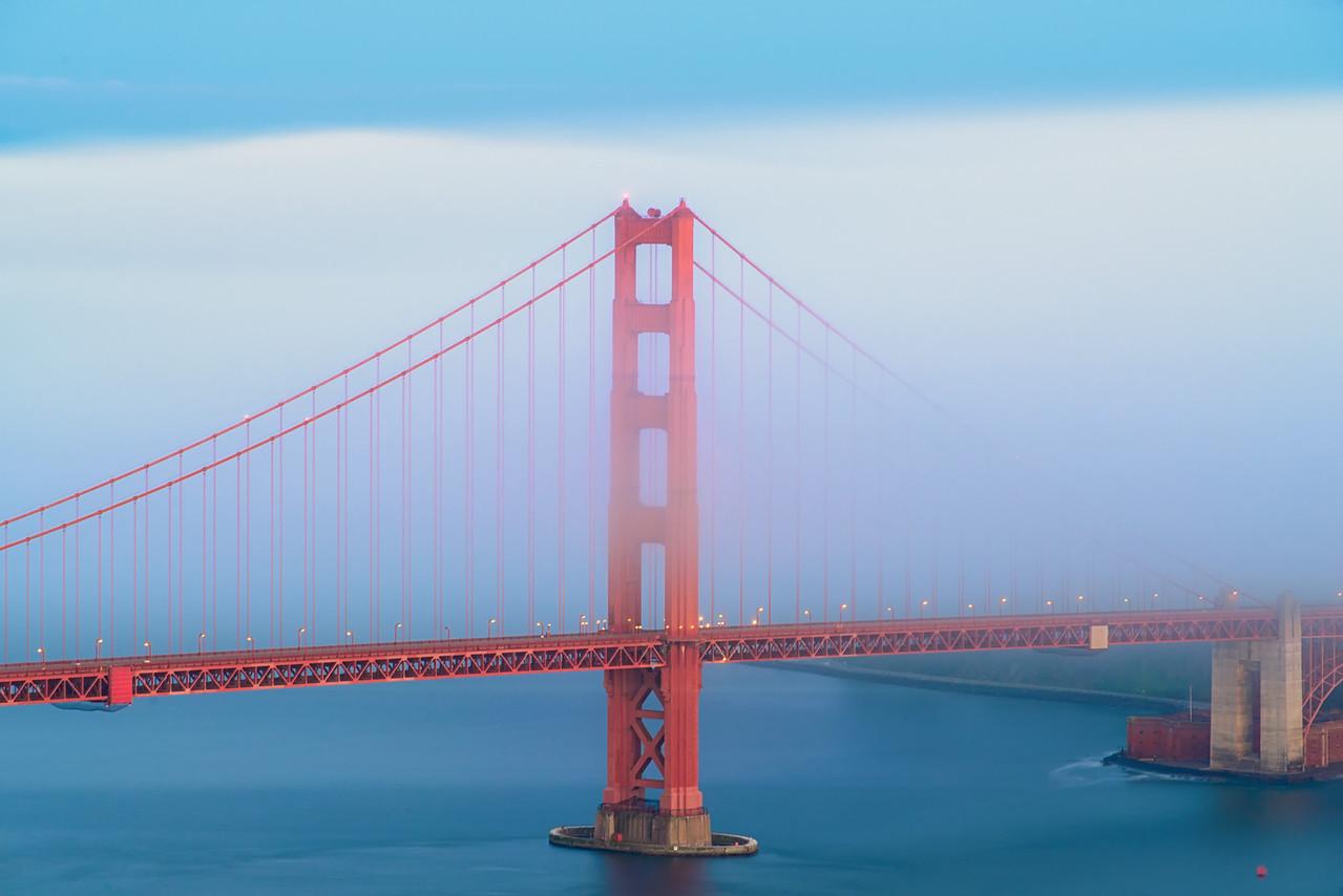 Fog on the Bridge!