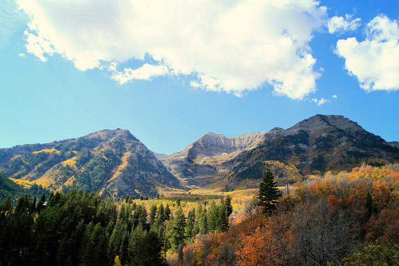 Mt Timpanogos in Autumn