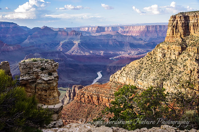 Grand Canyon and Colorado River at sunset (1)