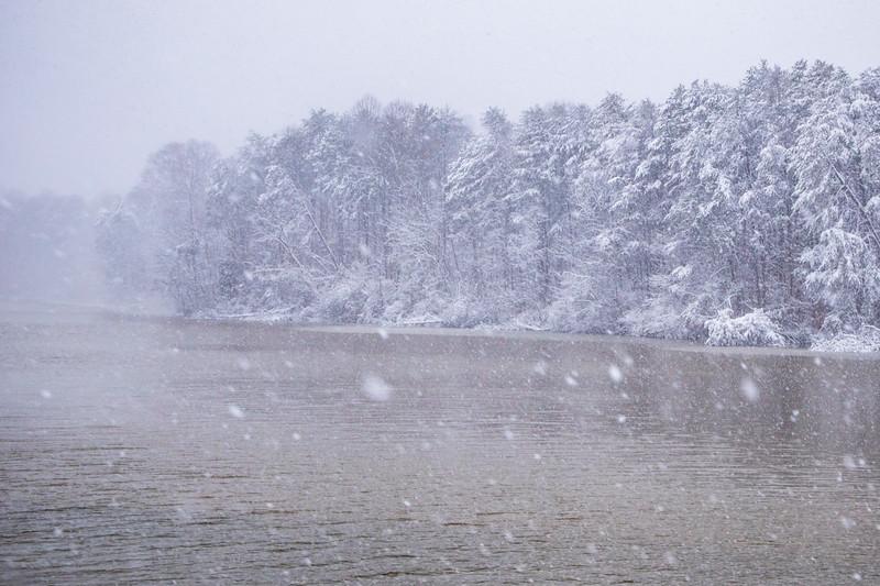 Snowy Lake Higgiins
