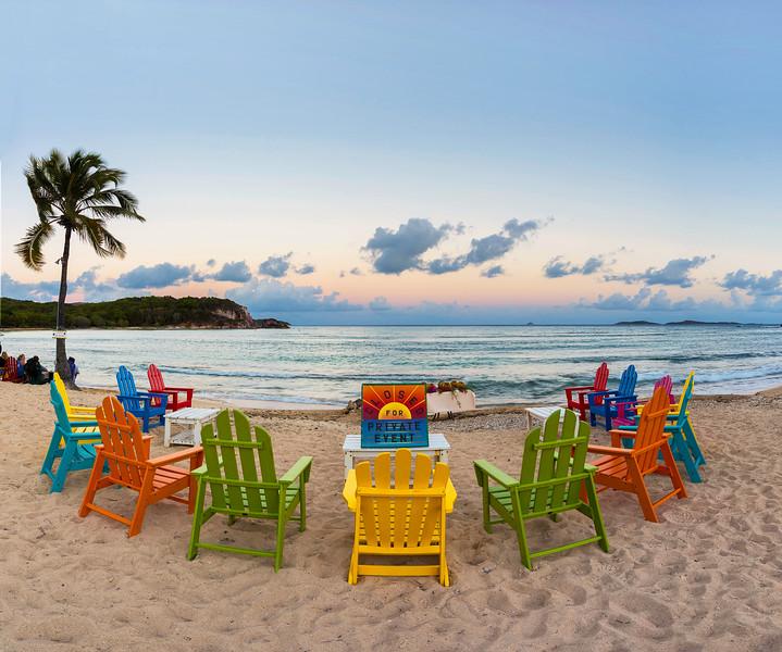 Private Party, Bolongo Bay Beach Resort, St Thomas USVI