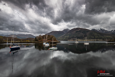 Tranquility at Loch Leven