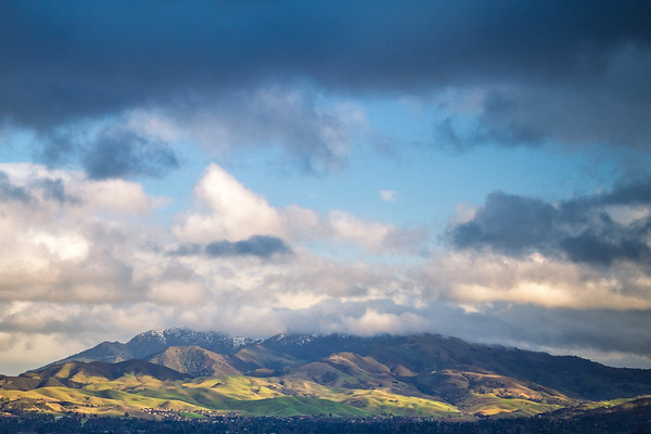Snow on Mt. Diablo