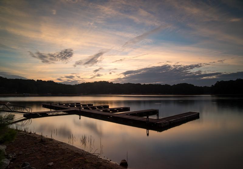 Summer Morning at the Dock