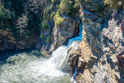 Linville Falls - Linville Gorge Wilderness - NC-19