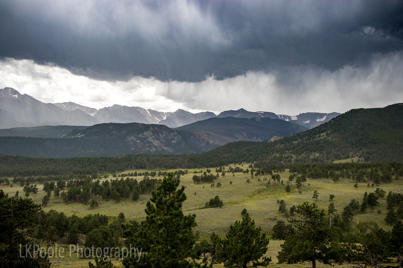 Storm over the Rockies