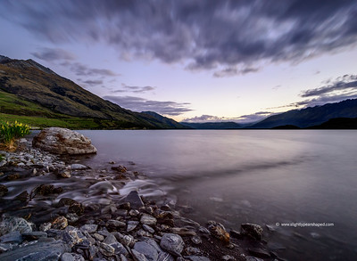 Lake Wakatipu at Dusk