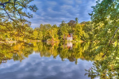 The Tea House at Halsey Pond, Irvington NY.
