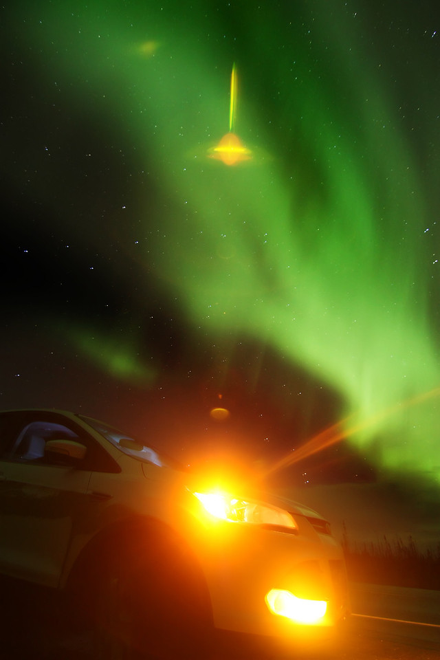If I dint say it earlier, I love the flare. -  Ford Escape  & Northern Lights Alaska