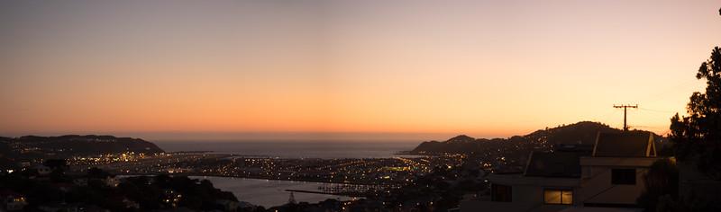 Lyall Bay Sunset