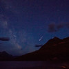 Meteor Over Waterton Lake