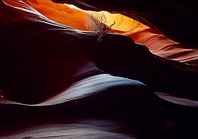 On the Edge II Corkscrew Canyon, Page, AZ