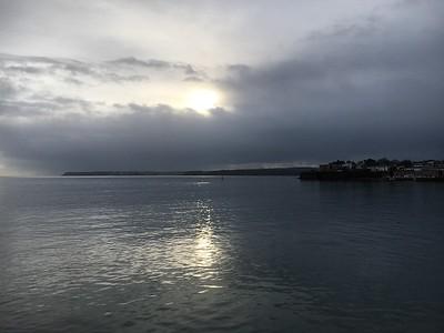 View from Paignton pier towards Brixham