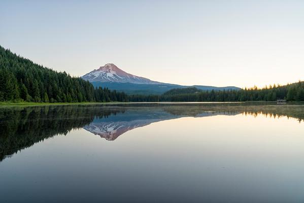 Trillium Lake Sunrise - Mount Hood-2