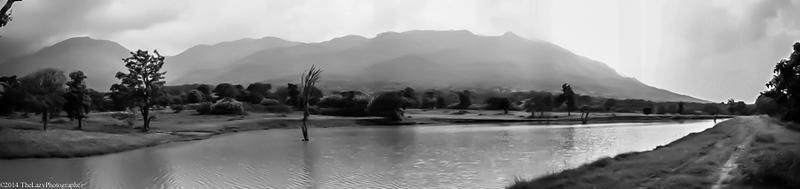 the hills as seen from Masinagudi