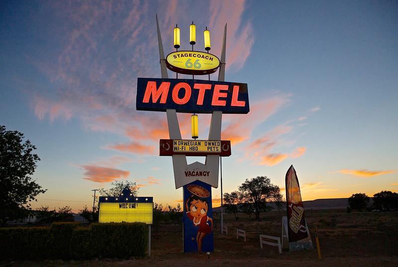 Stagecoach 66 Motel.  Seligman, Arizona
