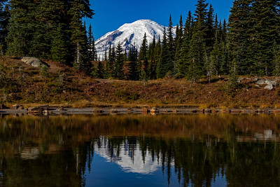 Mt Rainier Reflections 1