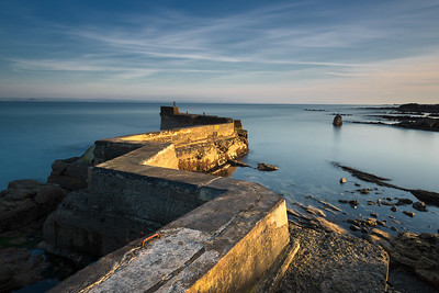 Zig Zag Pier, St Monan's, Fife
