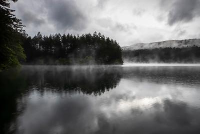 Rainy Lake Morning
