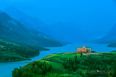 Prince of Wales Hotel, Waterton Lakes National Park, Alberta, Canada