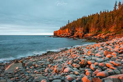 Otter Cliffs Sunrise, Acadia NP, Me