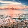 St John looking at sunset over St Thomas - Virgin Islands 2018