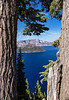 A Glimpse of Big Blue - Crater Lake