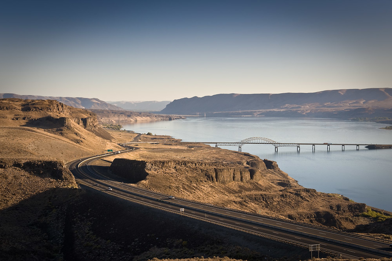 Vantage Bridge, Columbia River
