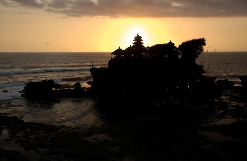 Tanah Lot Water Temple - Bali, Indonesia