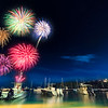 Fireworks Cruz Bay - Carnival St John - July 4, 2017