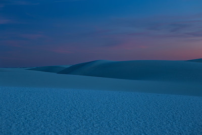 Blue Hour at White Sands