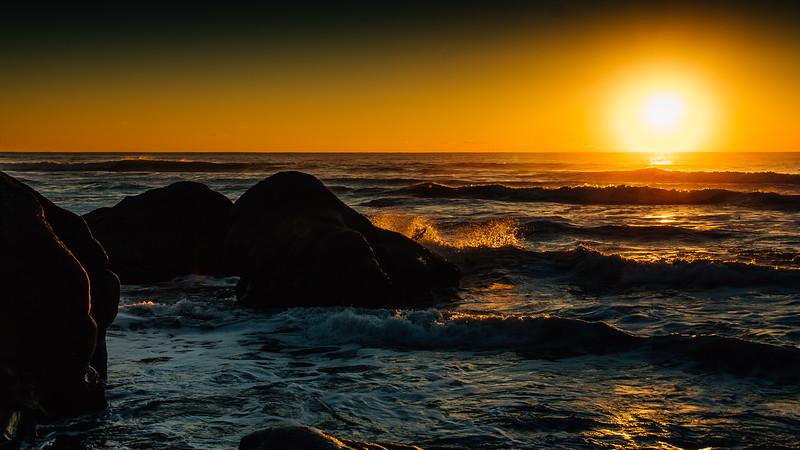 Sunset on the Washington Coast